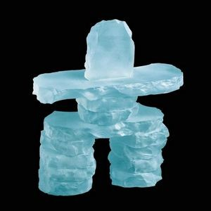 Inukshuk - Frosted 9""